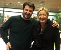 Salvini and Le Pen meet to discuss closer relations