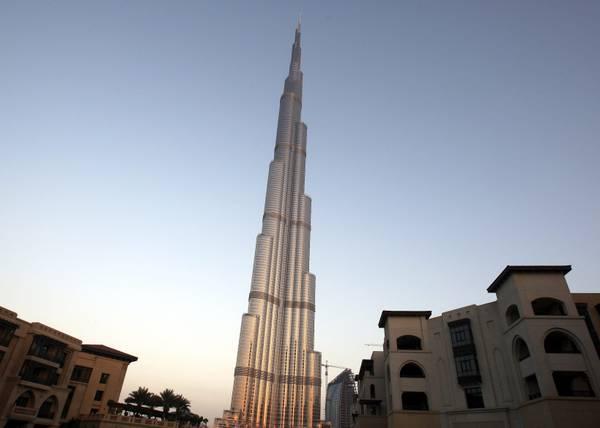 A dubai il grattacielo pi alto del mondo - Dubai grattacielo piu alto ...
