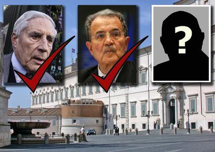 Quirinale, pressing su Napolitano
