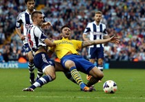 West Bromwich-Arsenal 1-1