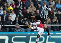 Newcastle United-Arsenal 0-1