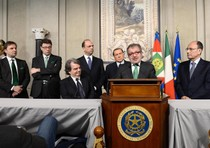 Lombardy Governor and Northern League President Roberto Maroni