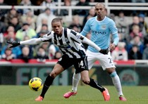 Newcastle United FC Vs. Manchester City FC